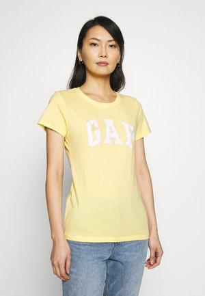 TEE FASH - T-shirt z nadrukiem - spring yellow