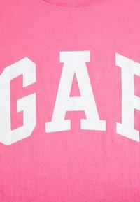 GAP - TEE FASH - T-shirts med print - pink - 2