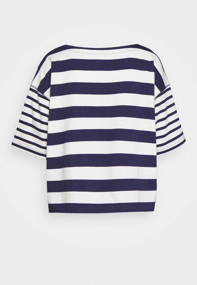 MARINER TEE - T-shirt z nadrukiem - dark blue