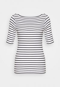 GAP - T-shirt con stampa - black/white - 0