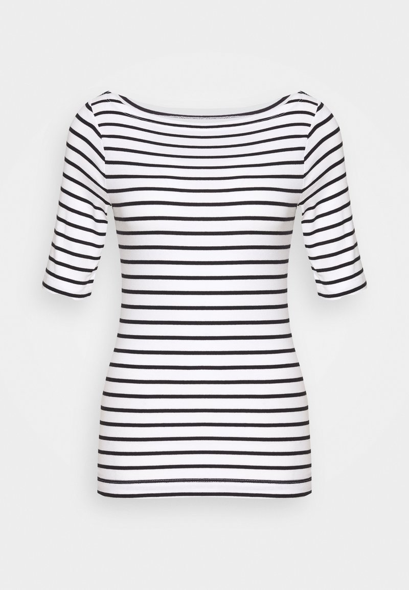 GAP - T-shirt con stampa - black/white