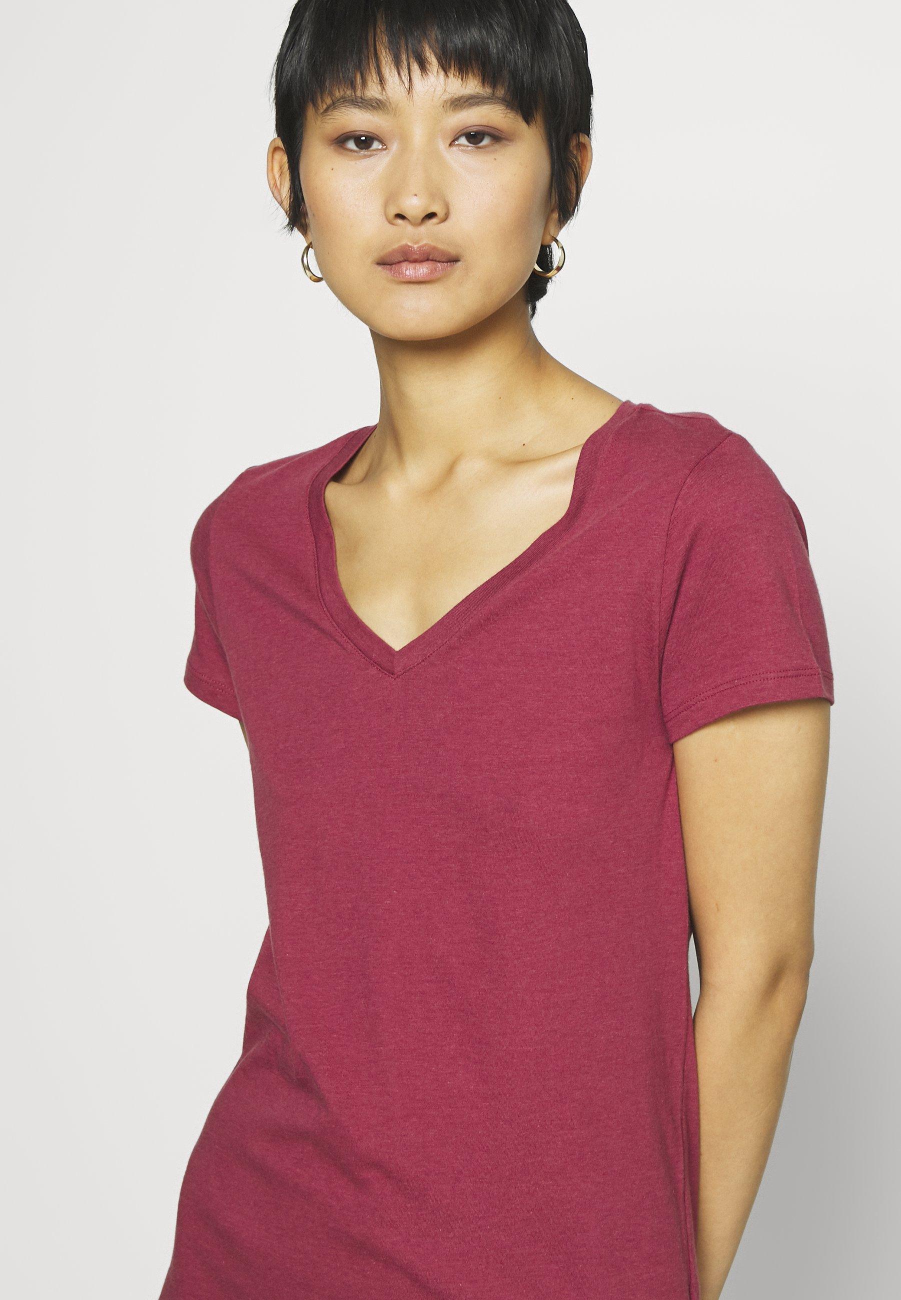 GAP FAV - T-shirts - red clay