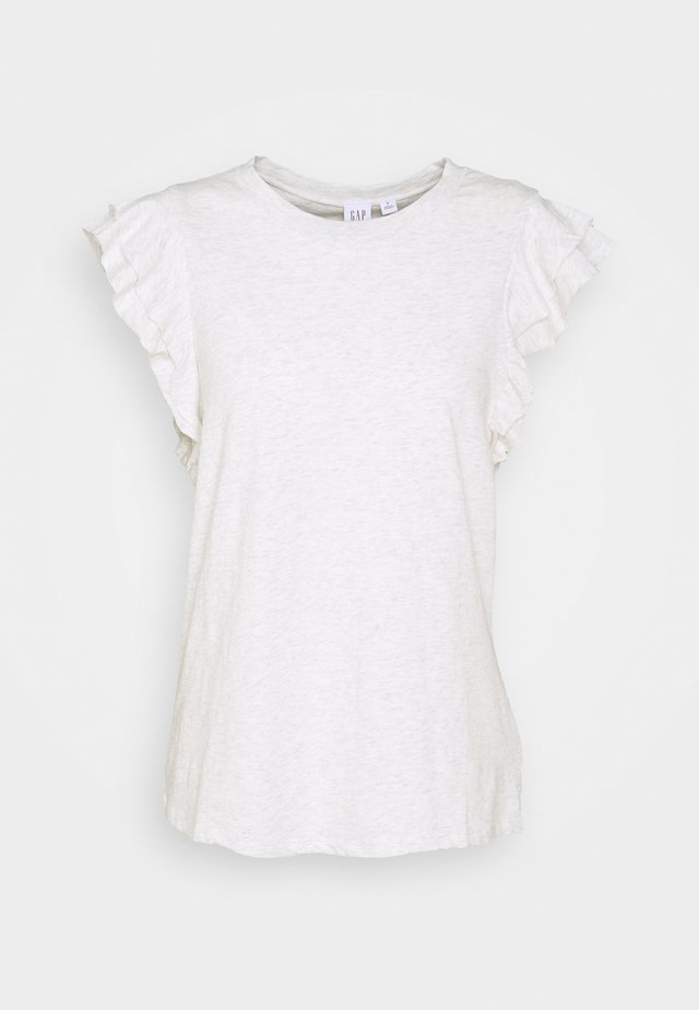 RUFFLE - T-shirt print - heather grey