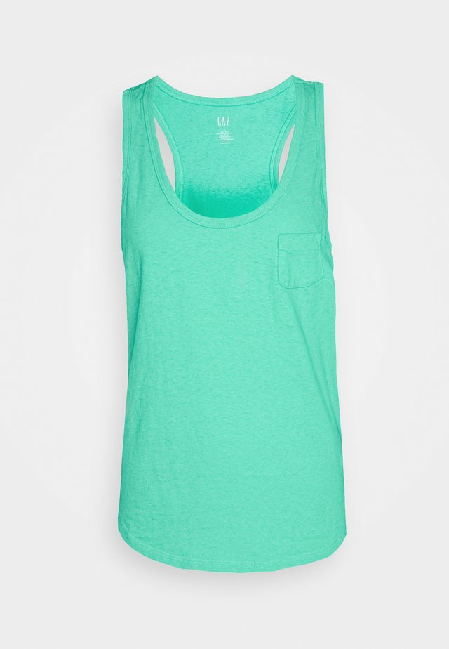 TANK - Top - siren green