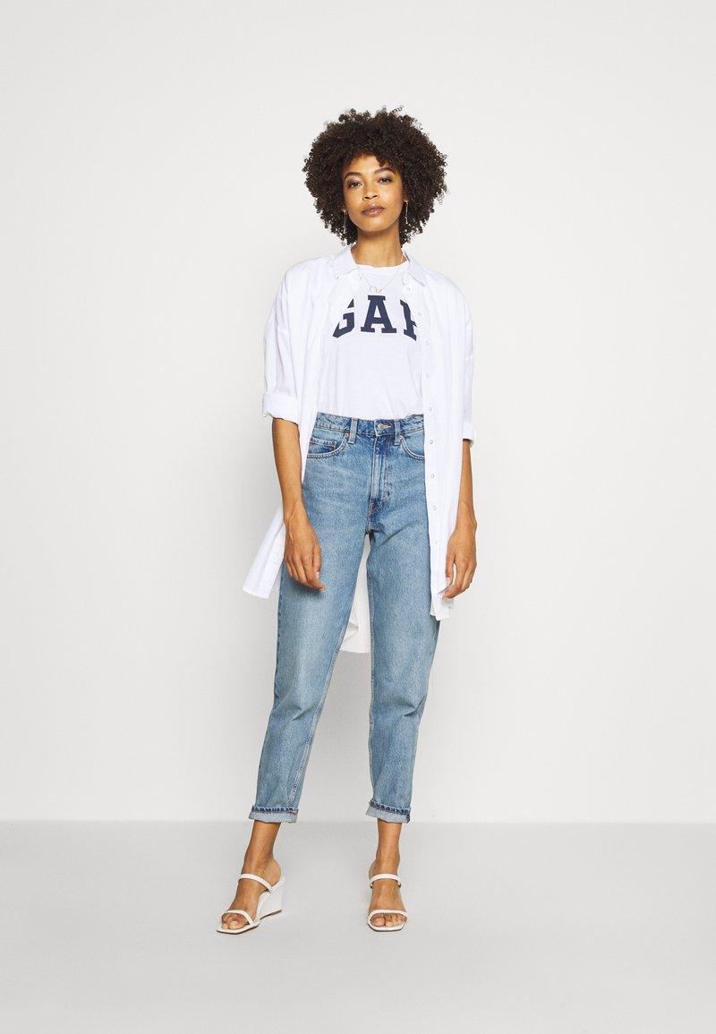 GAP - FRANCHISE TEE 2 PACK - T-shirts med print - navy