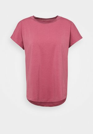 T-shirt basic - deco rose