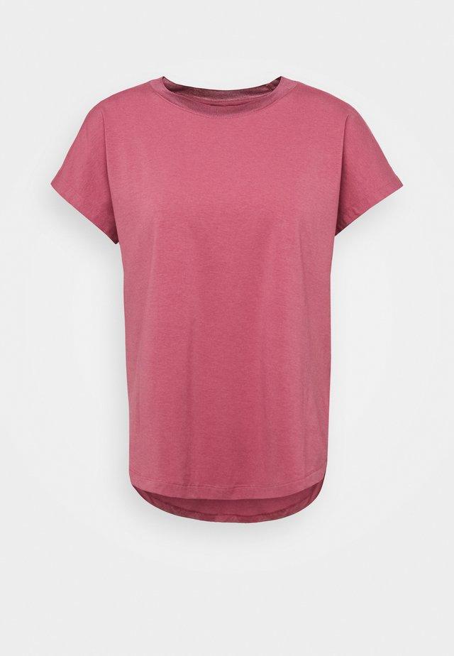 T-Shirt basic - deco rose