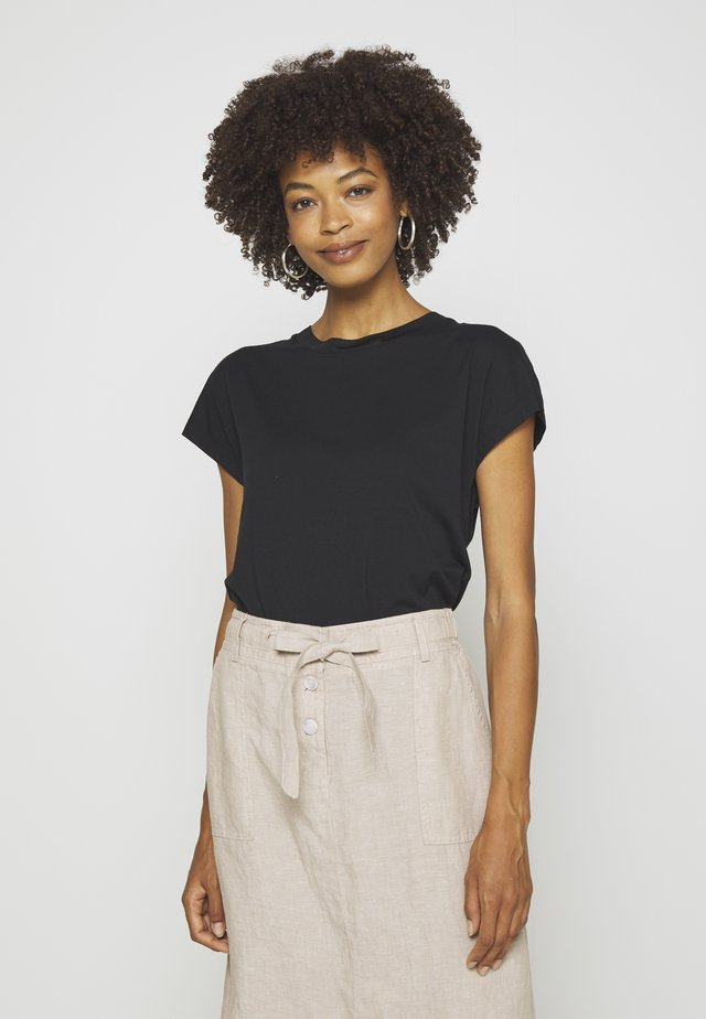 T-shirt basic - true black