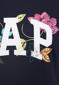 GAP - FRANCHISE FLORAL TEE - T-shirts med print - navy uniform - 5