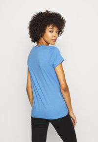 GAP - OUTLINE TEE - T-shirt z nadrukiem - cabana blue - 2