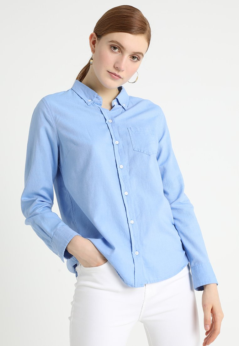 GAP - FITTED BOYFRIEND  - Hemdbluse - light blue