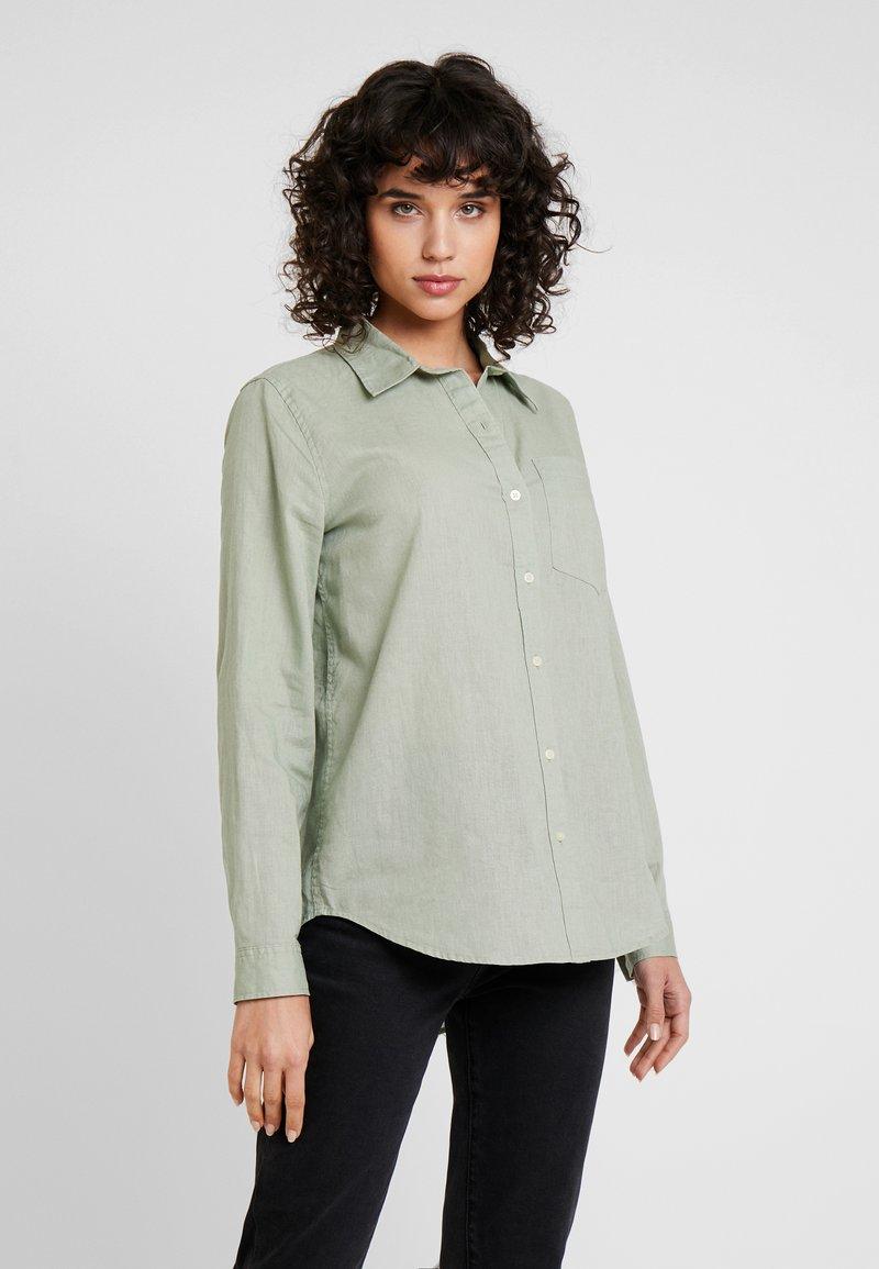 GAP - Button-down blouse - desert sage