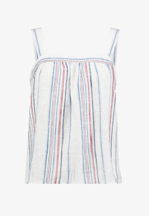 APRON TANK STRIPE - Top - red