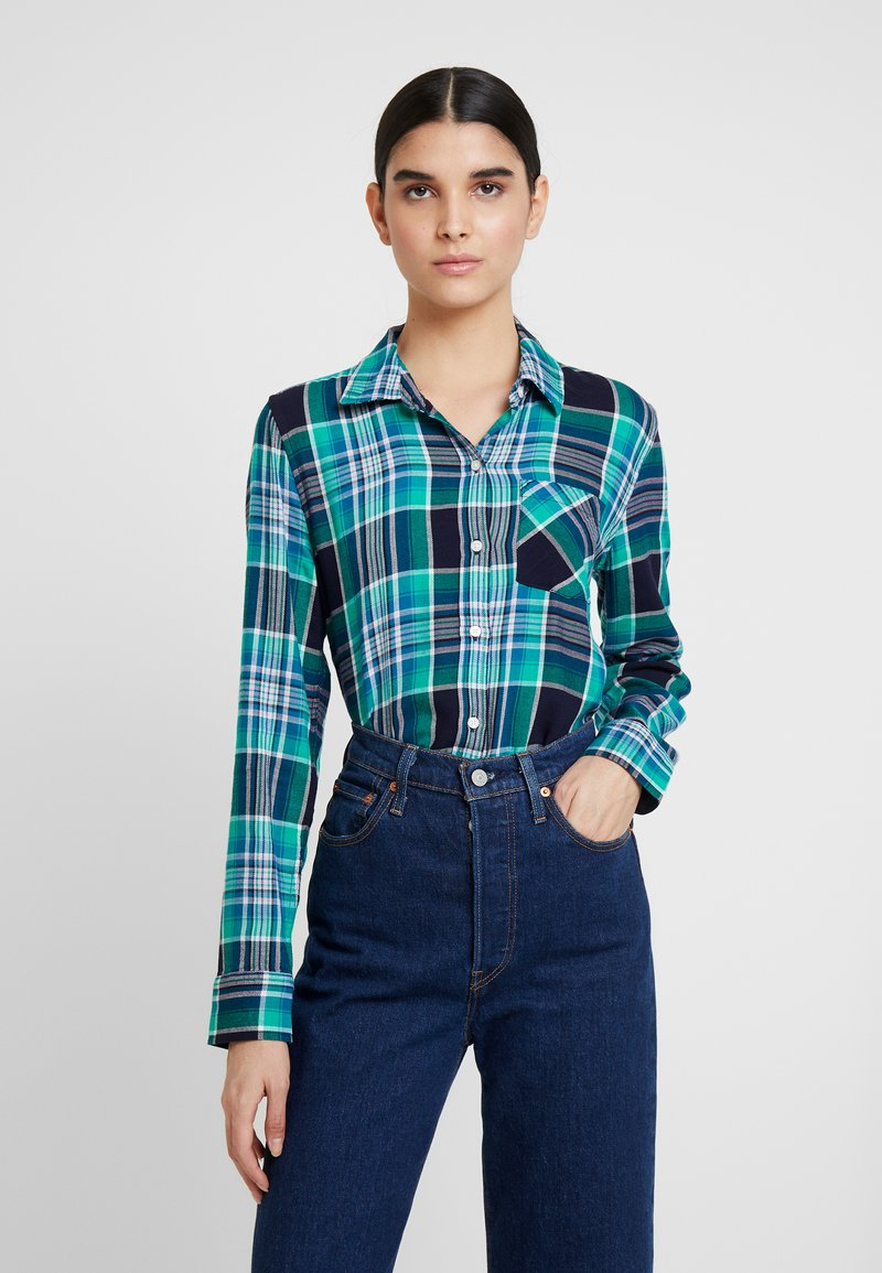 GAP - DRAPEY PLAID - Hemdbluse - green plaid
