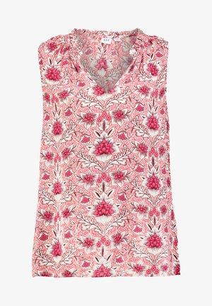 SMOCKED - Blusa - pink