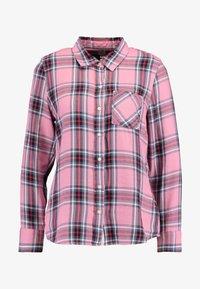 GAP - DRAPEY PLAID - Skjorta - pink - 4