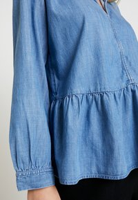 GAP - PEPLUM - Blouse - medium indigo - 5