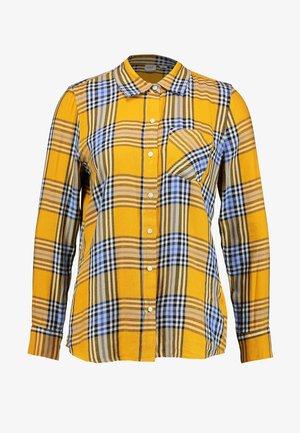 DRAPEY PLAID - Košile - gold