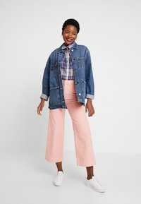 GAP - DRAPEY PLAID - Button-down blouse - lavender - 1