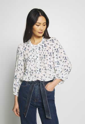 PINTUCK - Bluser - white floral print