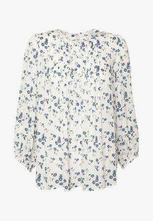 PINTUCK - Bluser - white floral print