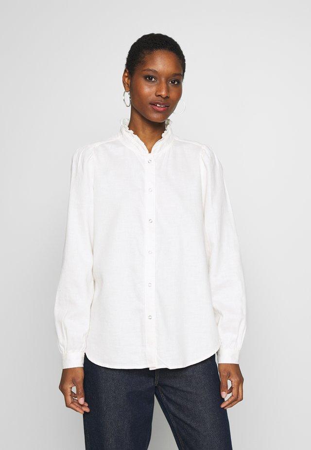 Button-down blouse - milk global