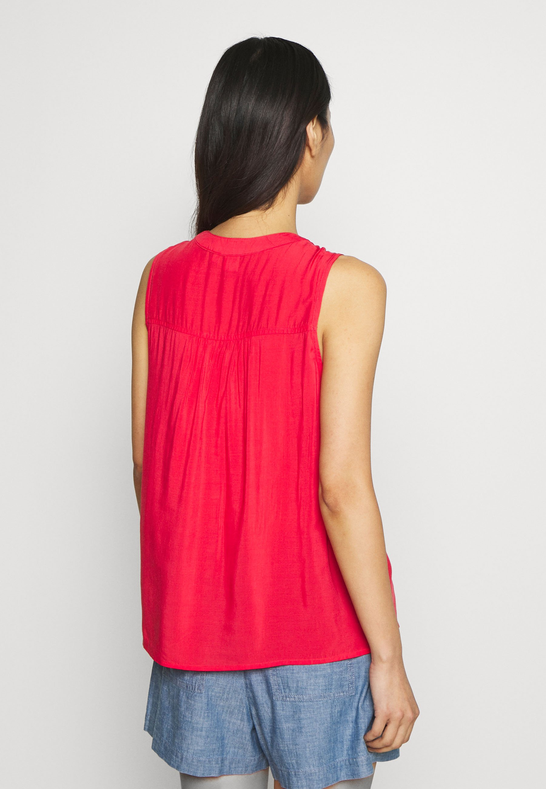 GAP TOP - Bluser - red tulip