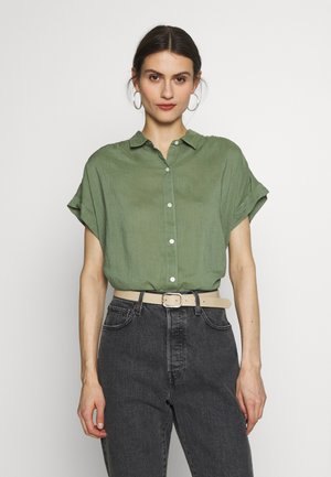 DRAPEY  - Button-down blouse - twig