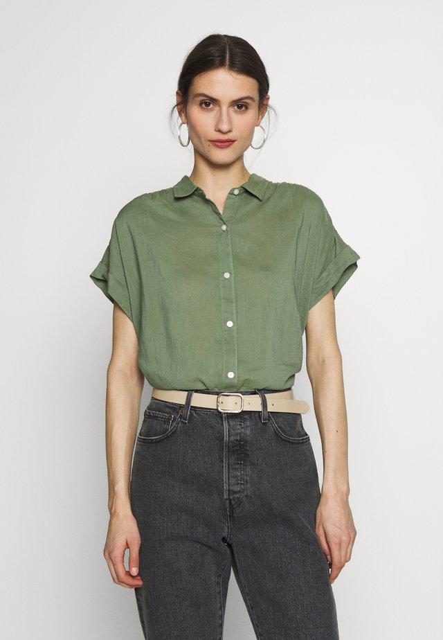 DRAPEY  - Button-down blouse - twig