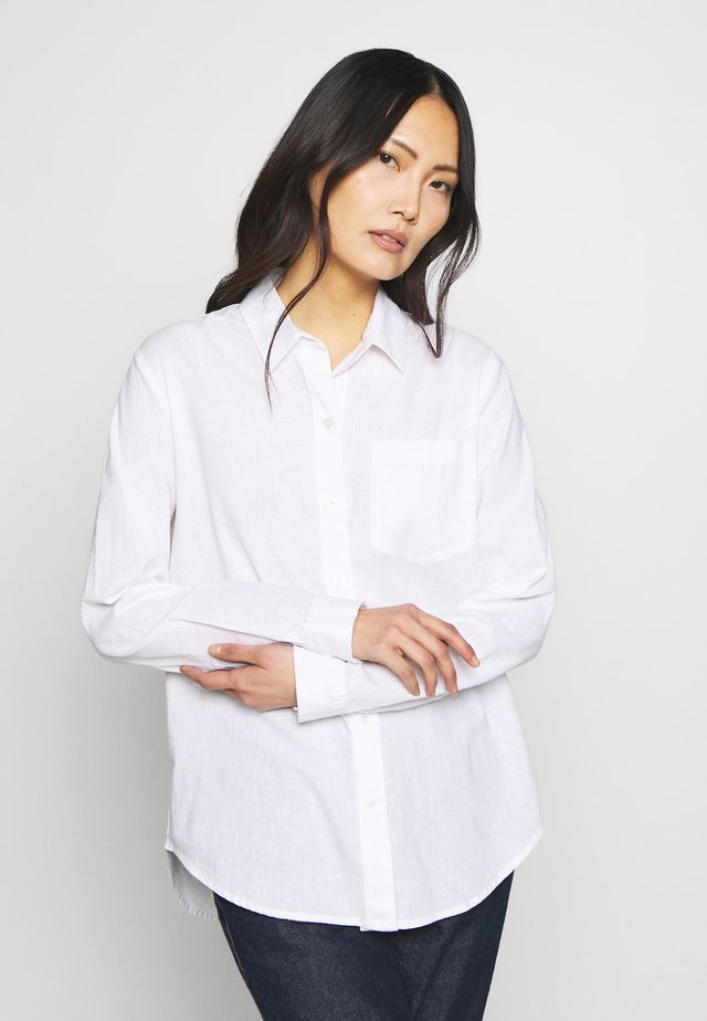 Overhemdblouse - optic white