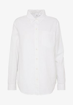 Button-down blouse - optic white