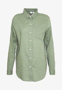 GAP - Button-down blouse - twig - 3
