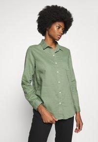 GAP - Button-down blouse - twig - 0