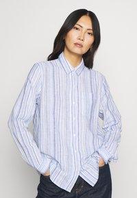 GAP - Button-down blouse - blue - 0