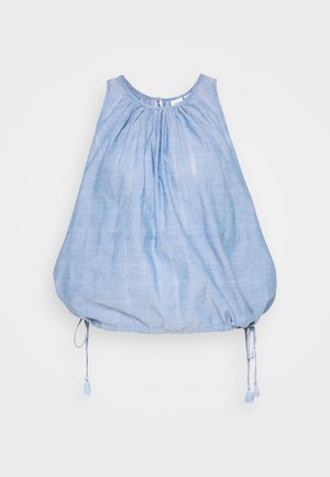 BUBBLE DOBBY - Blouse - blue chambray