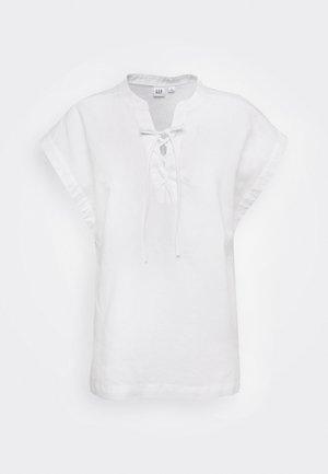 UP TEE - Blouse - fresh white