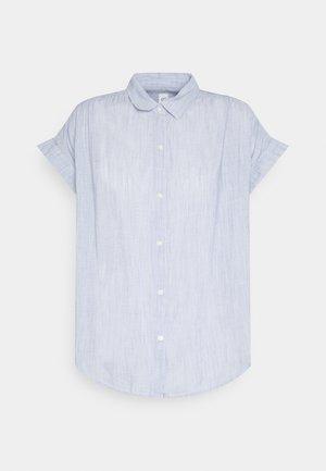 DRAPEY SHIRT - Blouse - blue