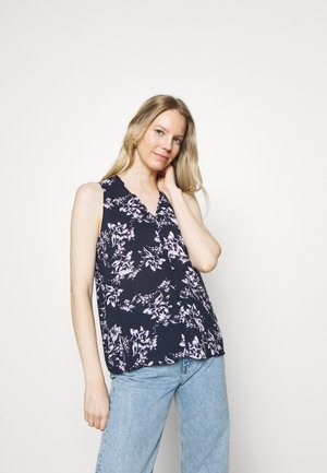 TANK - Blouse - navy