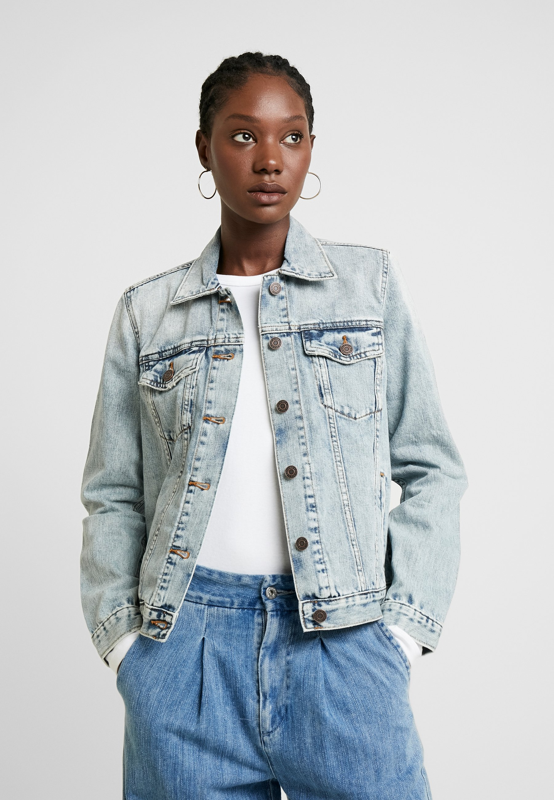 GAP ICON PHOENIX - Jeansjakke - light wash