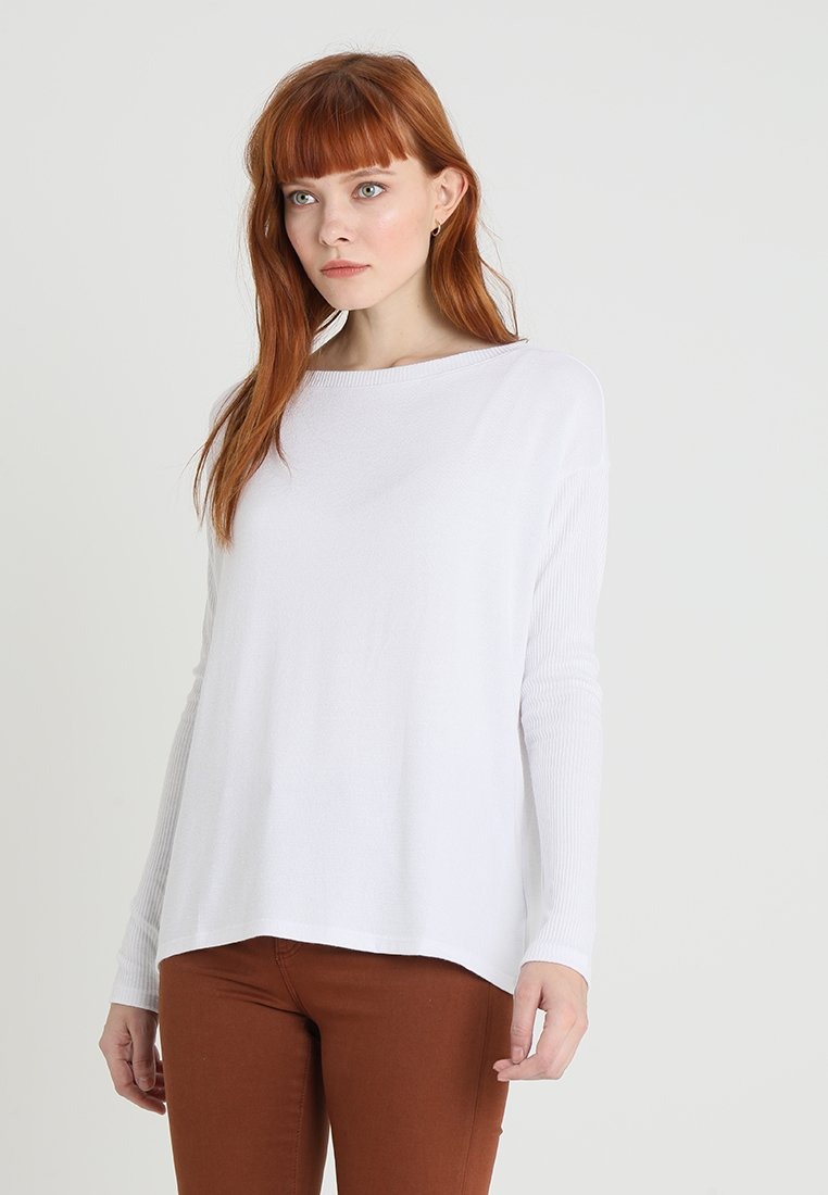 GAP - BOATNECK - Jumper - white