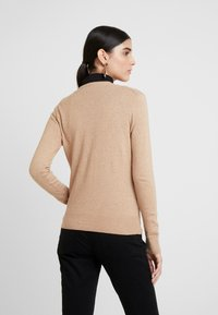 GAP - CREW CARDI - Cardigan - camel heather - 2