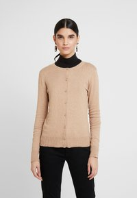 GAP - CREW CARDI - Cardigan - camel heather - 0