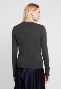 GAP - CREW CARDI - Vest - charcoal heather - 2