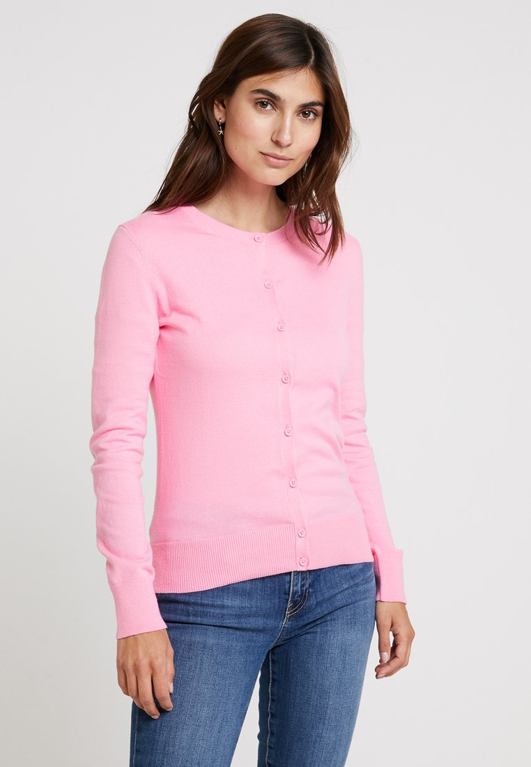 GAP - CREW CARDI - Kardigan - neon impulsive pink