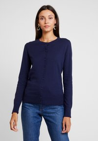GAP - CREW CARDI - Kardigan - navy uniform - 0