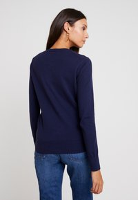 GAP - CREW CARDI - Kardigan - navy uniform