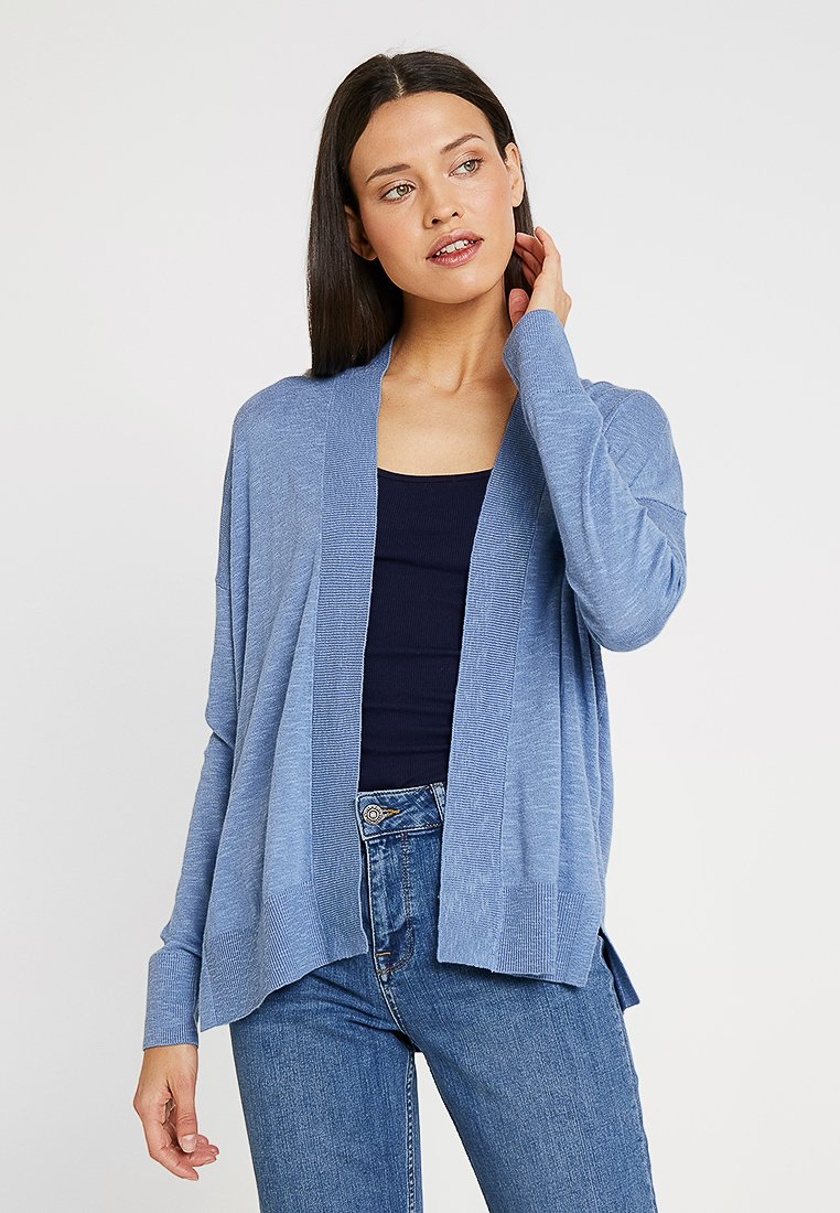 GAP - V SLUB OPEN THIRD - Strikjakke /Cardigans - soft cornflower