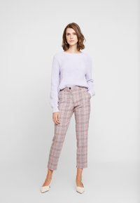 GAP - SHAKER CREW - Jumper - grape jelly - 1