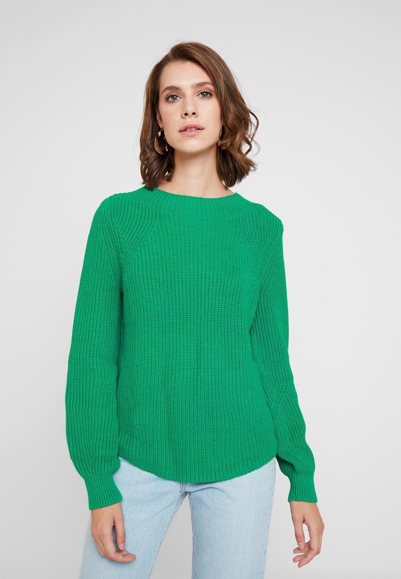 GAP - SHAKER CREW - Strickpullover - deluxe green