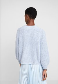 GAP - CROP MOCK - Jumper - light blue marl - 2